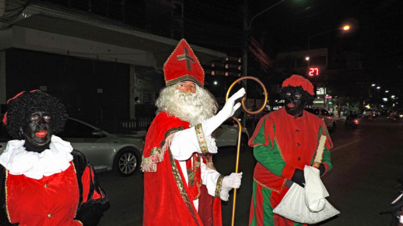 Volle Bak Bij Sinterklaas In Hua Hin Foto S Thailandblog