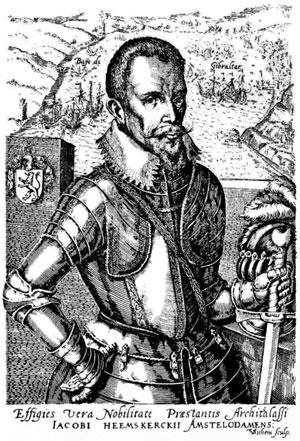 VOC-admiraal Jacob Van Heemskerck