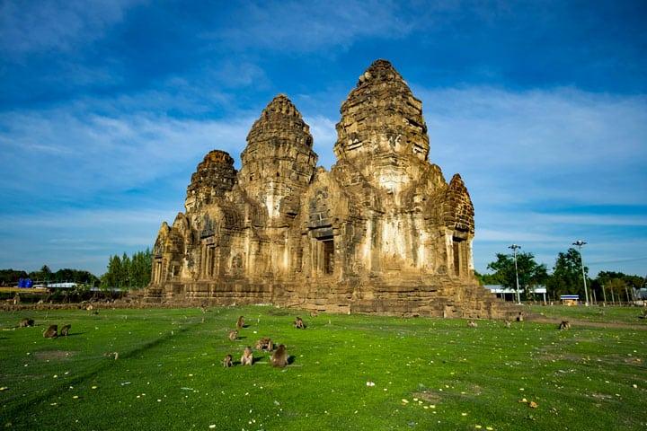 Phra Prang Sam Yot in Lopburi
