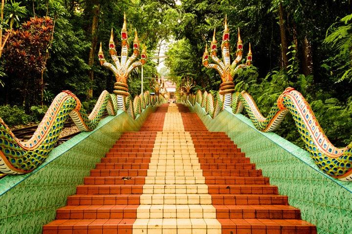 Wat Khao Sukim bij Chanthaburi