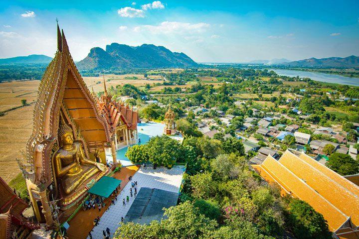 Wat Tham Sua in Kanchanaburi