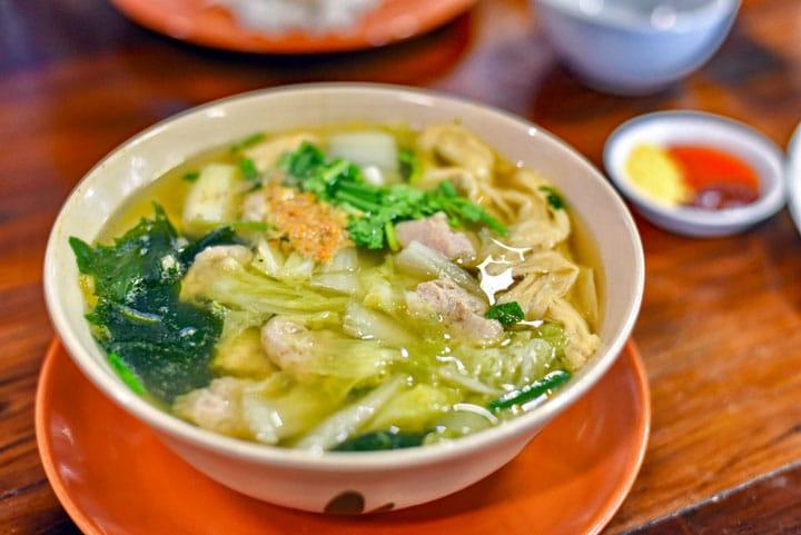 Thaise heldere soep (Gang Jued)