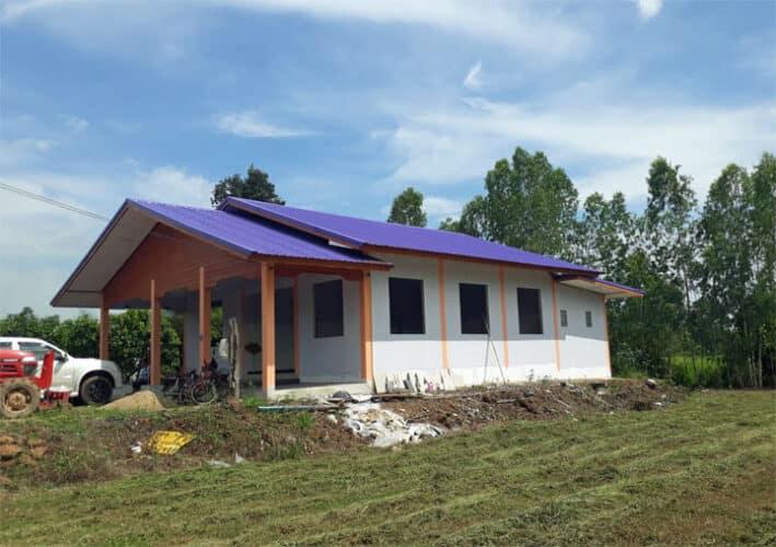 Voorbeeld van een huis van ongeveer 500.000 baht