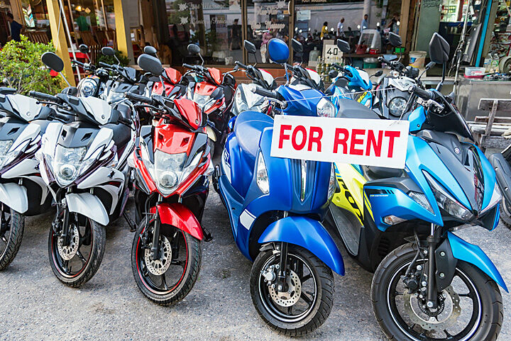 Tips for renting a scooter or motorbike in Thailand - Siam Insight