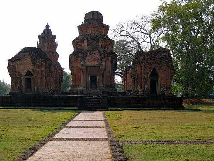 Khmertempel in Prasat Si Khoraphum