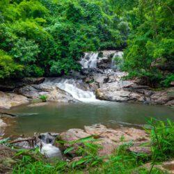 Mae Sa waterfall national park in Mae Rim